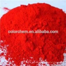 Plástico e borracha uso pigmento molibdato cromo laranja