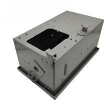 Обработка шкафа из листового металла оцинкованного электрического кабеля