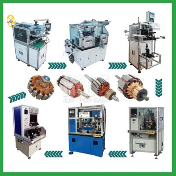 Automatic Armature Rotor Electric Motor Production Line