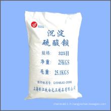 325 poudre de sulfate de mailles Baryté précipité