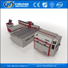 1500mm * 2000mm Kaltschneiden CNC Glas Schneiden Wasserstrahlmaschine