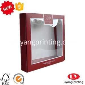 clear window packaging box
