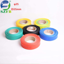 Feibo electric wires cable custom color diameter 35mm thin wall heat shrink tubing