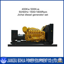 Jichai 500kVA Power Generator with Good Quality Under ISO Control