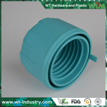 plastic connector universal joint with double thread