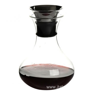 Leading for China Supplier New Design Water Pitcher,Lid Glass Water Pitcher,Antique Glass Water Pitcher 34oz Glass Water Carafe Wine Decanter supply to India Suppliers