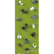 Circel Cable Clips (round, white)