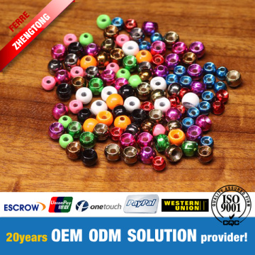 Fly Fishing Material Countersunk Beads Tembaga