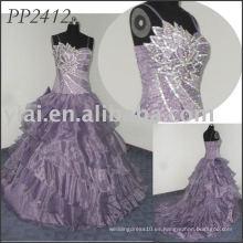 Vestido de partido elgant 2011 de la alta calidad libre del envío 2011 PP2412