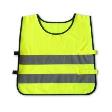 Flu Yellow Kids Safety Vest with En1150 Certificate (DFVUU203)