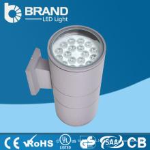 Alta qualidade IP65 impermeável alumínio acima Down Lighting LED 2x20W parede exterior