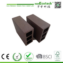 Square Style WPC Outdoor Decoration Fencing Decking