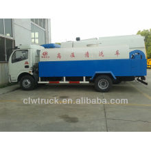 Dongfeng 5m3 caminhão de lavagem de alta pressão