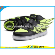 New Product Fashion LED Light Lace Up Luminous Sneaker Casual Shoes