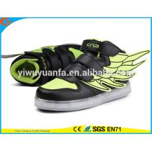 Новый продукт мода светодиодный свет на шнуровке светящийся кроссовок Повседневная обувь