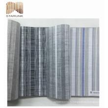 vente chaude tissé vinyle moderne chambre papier peint