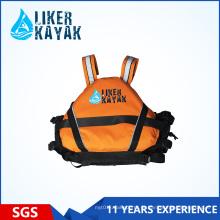 400d Terylene Oxford Textile Rescue Life Vest para esportes aquáticos para adultos