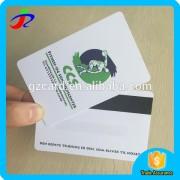 Printing HICO 2750oe / LOCO 300oe plastic magnetic stripe card