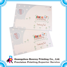 high quality colorful logo design a3 envelope for gifts packing