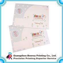 высокое качество красочный дизайн логотипа А3 конверт для подарков упаковки