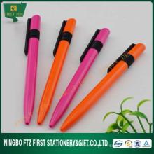 Werbung Kunststoff Kugelschreiber mit verschiedenen Farben
