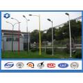 Hot DIP Galvanized Single Arm Street Light Steel Pole