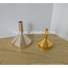 Entonnoir liquide en aluminium de remplissage de parfum de 35mm