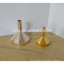 35mm perfume filling aluminium liquid funnel