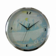 30cm White Wall Clock, White PVC Dial, Suitable for Promotional Printing