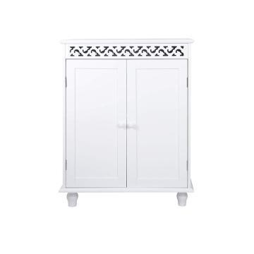 wooden organizer bathroom storage rack
