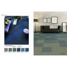 Carreaux de tapis commerciaux modulaires PP avec support en PVC