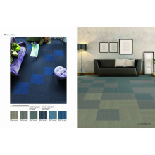 PP Modular Commercial Carpet Tiles with PVC Backing
