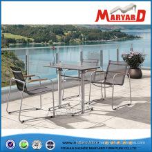 Luxury Stainless Steel Outdoor Furniture Mesh Metal Chair