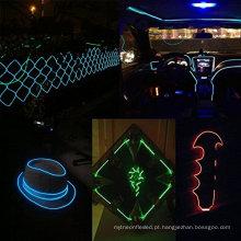 Bela El Fio Set, Multi-Color Lâmpada de Néon com Bateria Neon Luz de incandescência Strobing Eletroluminescent Wire