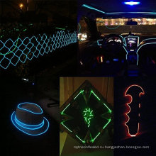 Красивые El провода набор, многоцветные неоновые лампы с аккумулятором Постробирования неона Накаляя Электролюминесцентный свет