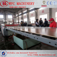 PVC WPC esfarrapando máquina de placa de espuma / máquina de placa de espuma de pvc