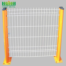 Triangle Bending PVC-Coated Welded 3D Wire Mesh Fence