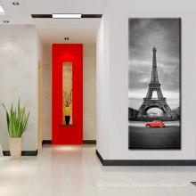 Pintura de la lona de la torre Eiffel para Halway