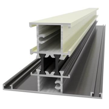 Индивидуальный дизайн алюминиевой экструзии / алюминия