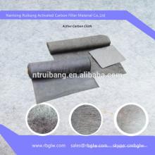 Filtración de agua Papel de carbón activado