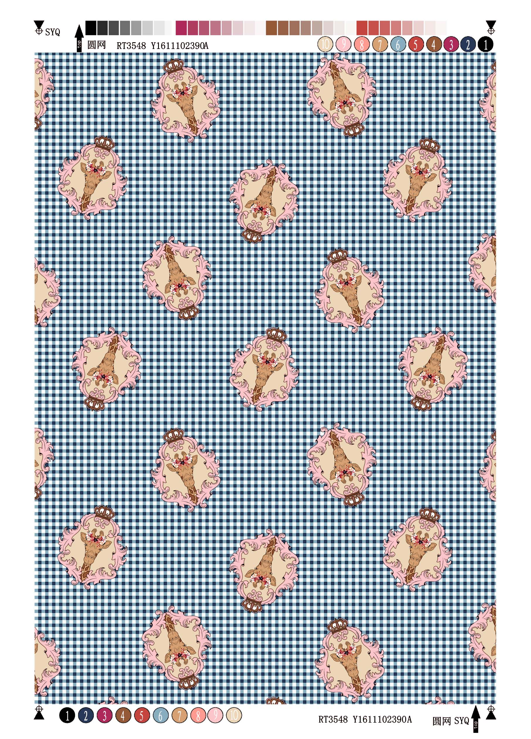Rayon Voile printing fabric Check Interest