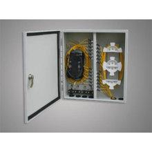 Aluminium Waterproof Fiber Optic Terminal Box / Distribution Box For Lc Adapter