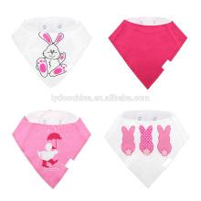 Cute Baby Bandana Lätzchen Set von 4-Pack Super saugfähigen weichen Baumwolle Sabber Lätzchen für Jungen & Mädchen Baby Lätzchen