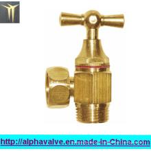 Messing-Winkelventil für Wasser (a. 0137)