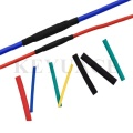 Black Adhesive Lined Medium Wall Heat Shrink Tubing for Cable Insulation Protect