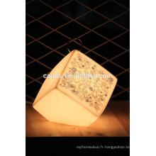 Lampe de table en forme de dés de Home Design