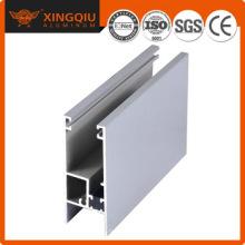 Usine en profilé en aluminium argenté, fournisseur de profils en aluminium