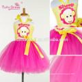 Little sheep Bebê Meninas Tutu Vestido Criança Crianças Festa de Aniversário Vestidos de Tule Para Meninas Traje Cosplay Dos Desenhos Animados Vestido de Princesa