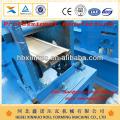 xinnuo obturador à prova de fogo colorido aço telhado arqueado roll-up porta formando máquina novo design china fabricante
