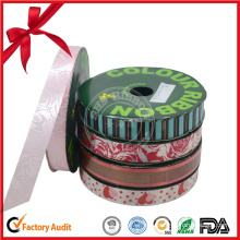 Christmas Edges Gift Wrapping Ribbon Roll
